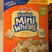 Kellogg's Mini-Wheats Bite Size Frosted Cereal uploaded by Taylor F.