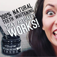 Activated Charcoal Whitening Tooth Powder - PEPPERMINT (4 Fluid Ounces Powder) by My Magic Mud at the Vitamin Shoppe uploaded by Sylvia d.