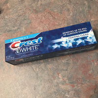 Crest 3D White Foaming Clean Toothpaste uploaded by April S.