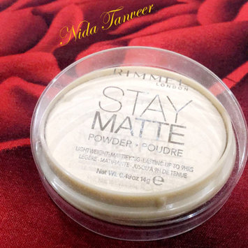 Photo of Rimmel London Stay Matte Pressed Powder uploaded by Nida T.