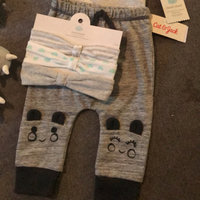 Baby Double Pom Beanie with Lurex and Mitten Set Cat & Jack™ - Monster Critter uploaded by Stacy S.
