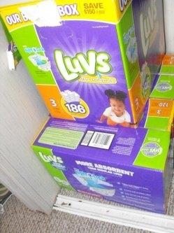 Luvs Diapers uploaded by Brandi H.