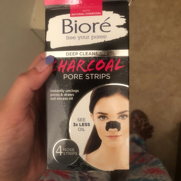 Photo of Bioré Deep Cleansing Charcoal Pore Strips uploaded by Alexandria L.