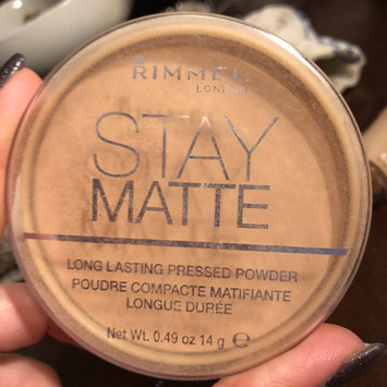 Photo of Rimmel London Stay Matte Pressed Powder uploaded by ⚓💟💜CaseyShultz🎀💎🌸 S.