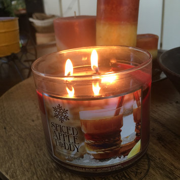 Photo of Bath & Body Works® SPICED APPLE TODDY 3-Wick Candle uploaded by Ashley M.