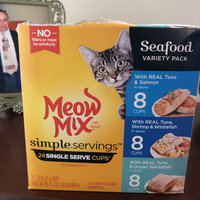 Meow Mix Tender Favorites Poultry & Beef Wet Cat Food Variety Pack, 2.75-Ounce Cups (Pack of 24) uploaded by Cristina D.