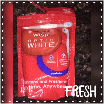 Photo of Colgate® WISP™ OPTIC WHITE™ Mini-Brush Coolmint uploaded by Amanda G.
