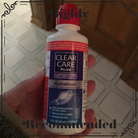 Clear Care Plus HydraGlyde Cleaning and Disinfecting Solution, 2 pk, 24 fl oz uploaded by Cassandra S.