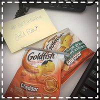 Goldfish® Calorie Cheddar Snack Cracker Pouches uploaded by Laura H.