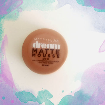 Photo of Maybelline Dream Matte® Mousse Foundation uploaded by Israa🌸 g.