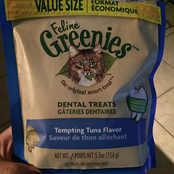Photo of FELINE GREENIES™ Dental Treats Oven Roasted Chicken Flavor uploaded by Graciela P.