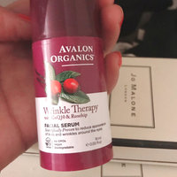 Avalon Organics Wrinkle Therapy With Coq10 & Rosehip Facial Serum uploaded by MissSoDelish •.