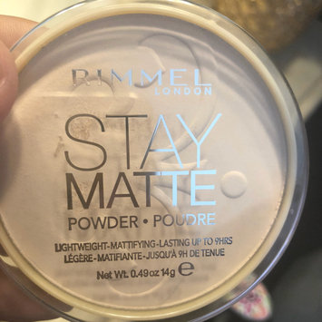 Photo of Rimmel London Stay Matte Pressed Powder uploaded by Ali B.
