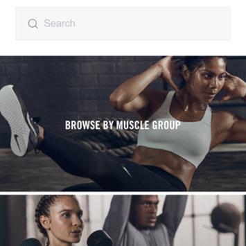 Photo of Nike Training Club App uploaded by Luisa F.