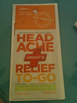 Photo of UrgentRx® Headache Relief to Go Powders uploaded by Marilyn A.