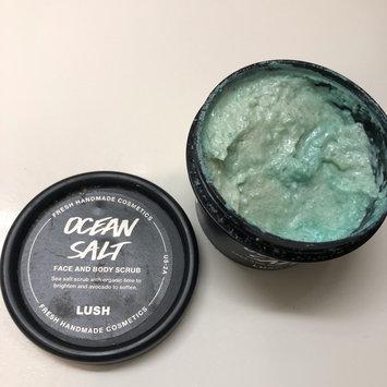 Photo of LUSH Ocean Salt Face and Body Scrub uploaded by miranda w.