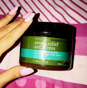 Photo of Bath & Body Works® Aromatherapy STRESS RELIEF-EUCALYPTUS & SPEARMINT Hand Cream uploaded by Rouba A.
