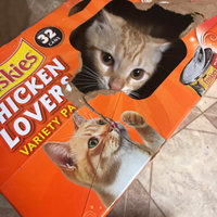 Friskies® Tasty Treasures with Turkey & Cheese in Gravy Cat Food uploaded by Jessica S.