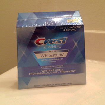 Photo of Crest 3D White Luxe Professional Effects Whitestrips Teeth Whitening Kit uploaded by Candice R.
