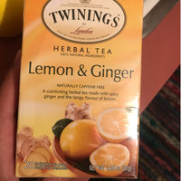 TWININGS® OF London Lemon & Ginger Tea Bags uploaded by Anamaris C.