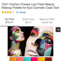 MAKE UP FOR EVER 12 Flash Color Case uploaded by Korinne K.