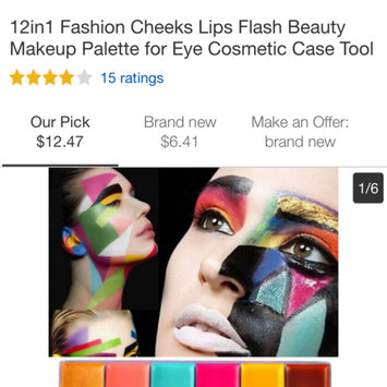 Photo uploaded to MAKE UP FOR EVER 12 Flash Color Case by Korinne K.