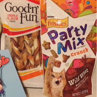 Friskies® Party Mix Cat Treats Original Crunch Chicken Liver & Turkey uploaded by Jacki D.