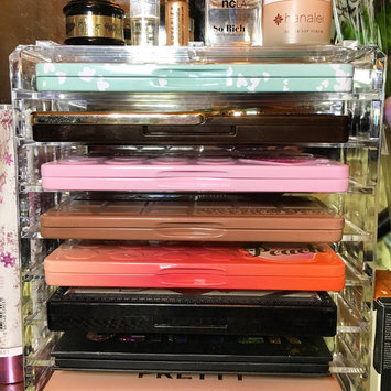 Photo of Acrylic Palette Organizer (Standard Sized Palettes) & Beauty Care Holder Containes 8+ Space Storage | byAlegory (Clear) uploaded by RosemaryLove L.