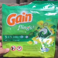 Gain Flings Original Laundry Detergent Pacs uploaded by Allie S.