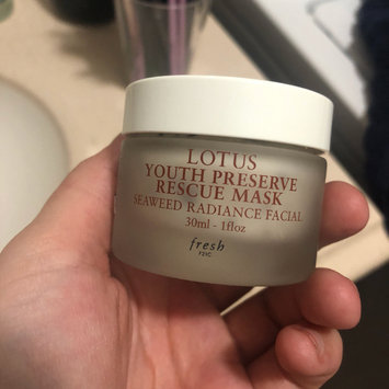 Photo of fresh Lotus Youth Preserve Rescue Mask uploaded by Bre G.