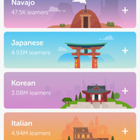 Duolingo uploaded by Kaila F.
