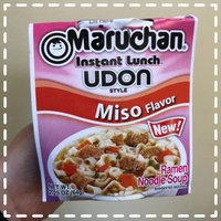Maruchan® Instant Lunch Udon Style Soy Sauce Flavor Ramen Noodle Soup 2.25 oz. Sleeve uploaded by Sarah S.