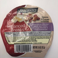 Sargento® Balanced Breaks® Natural White Cheddar Cheese with Almonds and Dried Cranberries uploaded by Aydin A.