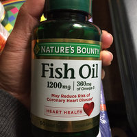 Nature's Bounty Odorless Fish Oil uploaded by moi S.