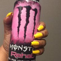 Monster Energy Monster Rehab Tea + Pink Lemonade Energy Drink uploaded by Nia N.