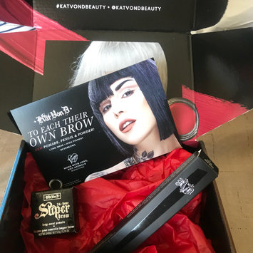 Photo uploaded to Kat Von D #70 Pomade Brow Brush by Juliana B.