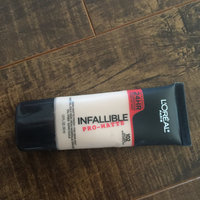 L'Oréal Paris Infallible® Pro-Matte Foundation uploaded by Nicole D.