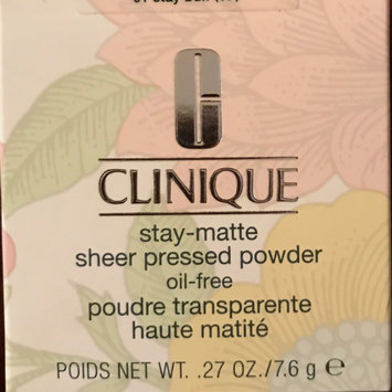 Photo of Clinique Stay-Matte Sheer Pressed Powder uploaded by Melanie