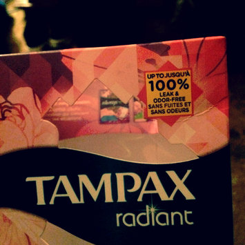 Photo of Tampax Radiant Regular uploaded by Sabrina A.