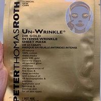 Peter Thomas Roth Un-Wrinkle(TM) 24k Gold Intense Wrinkle Sheet Mask uploaded by Bev E.