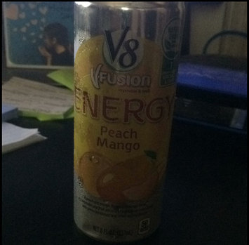 Photo of V8® V-Fusion + Energy Peach Mango Flavored Vegetable & Fruit Juice uploaded by Laura B.