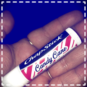 Photo of Chapstick Candy Cane Lip Balms, Peppermint, 0.15 Ounce (Pack of 6) uploaded by Justina M.