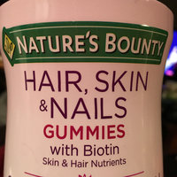 Nature's Bounty® Optimal Solutions® Hair Skin & Nails Gummies uploaded by Heather F.