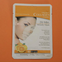 20 Minute Miracle Vitamin C Collagen Essence Facial Sheet Mask - 5 Count by BioMiracle (pack of 2) uploaded by María M.