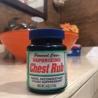 Personal Care Vaporizing Chest Rub 4 oz. uploaded by Andrea O.