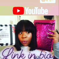 IPSY December 2017 Zippered Cosmetics Bag Shiny Silver - No Makeup Included uploaded by Chyna B.