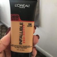 L'Oréal Paris Infallible® Pro-Matte Foundation uploaded by Linda E.