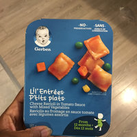 Gerber® Lil' Entrées® Cheese Ravioli In Tomato Sauce With Mixed Vegetables uploaded by 🇭🇹💋💄A-Ulysse 알.