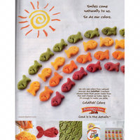 Goldfish® Colors Cheddar Baked Snack Crackers uploaded by Kat J.