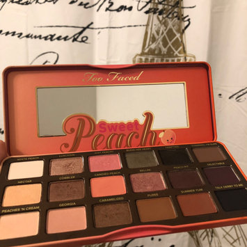 Photo of Too Faced Sweet Peach Eyeshadow Collection Palette uploaded by Maryam T.